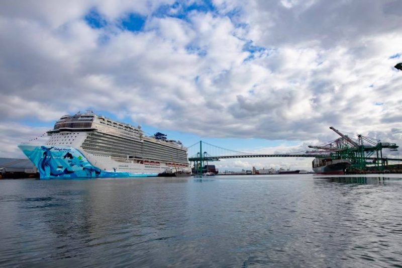 Norwegian Bliss in Los Angeles