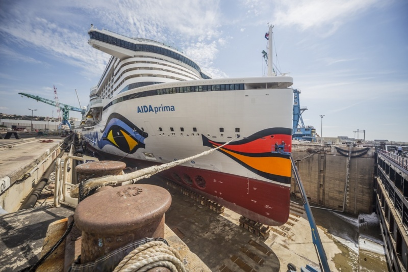 Carnival Royal And Norwegian Account For 980 Drydock Days