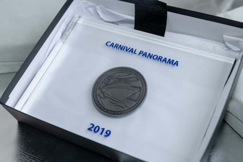Panorama Coin Ceremony