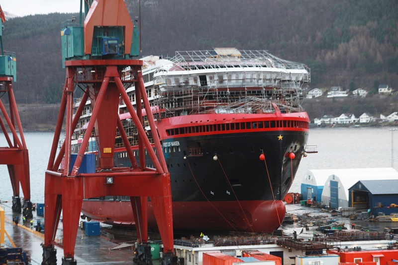 Launch at Kleven