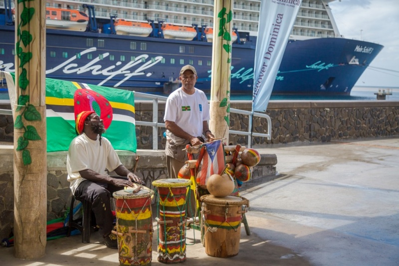 Dominica was back in business in late January with the arrival of the Mein Schiff 3.