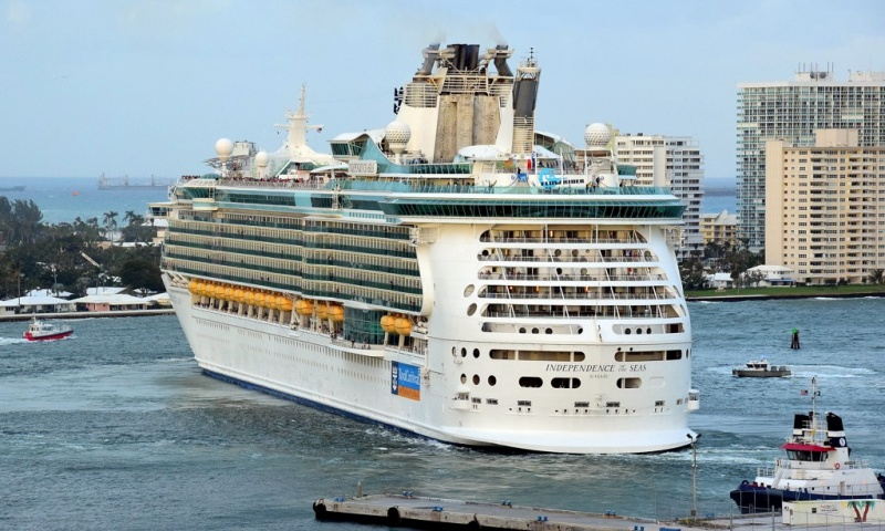 Independence of the Seas in Ft. Lauderdale