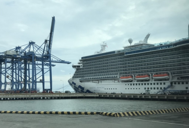 Majestic Princess In Phu My (Ho Chi Minh City) in June 2017