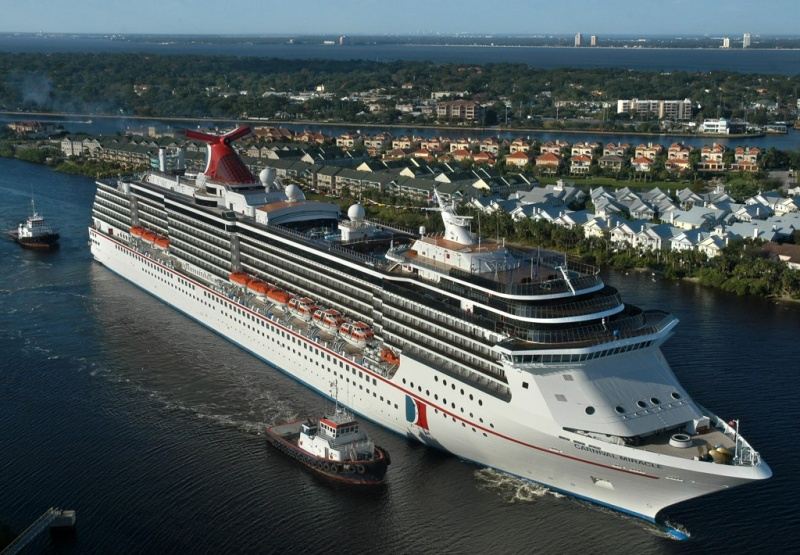 Carnival Miracle in Tampa