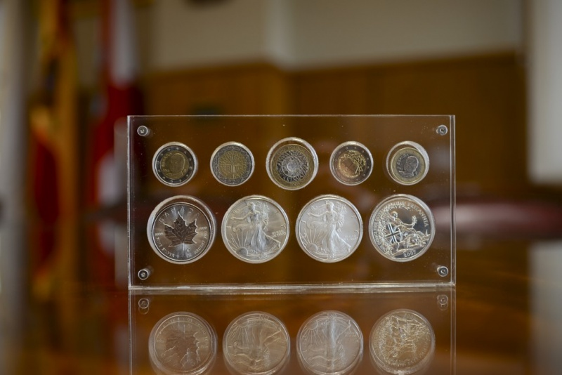 Traditional coins