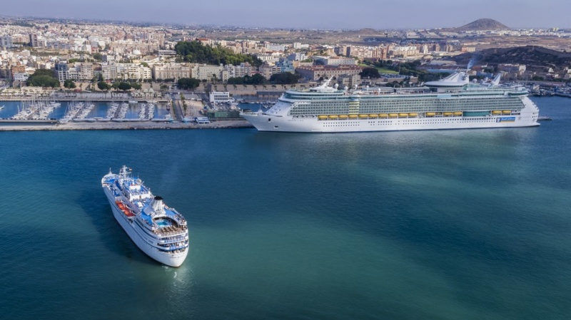 Freedom of the Seas and Ocean Majesty in Cartagena