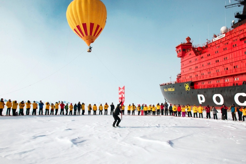 In the North Pole with Quark Expeditions