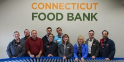 American Cruise Line Staff at the CT Food Bank