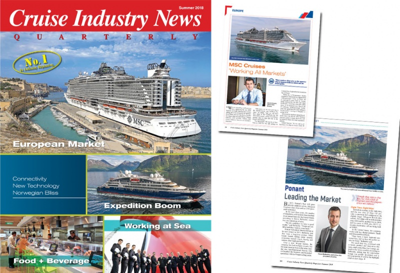 Cruise Industry News 2018 Quarterly Magazine Cover