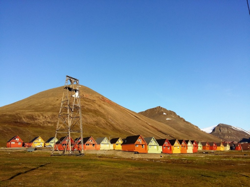 Longyearbyen. Photo by Frigg Jørgensen, AECO