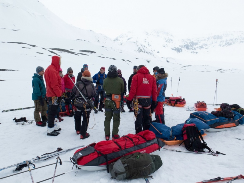 Expedition team training