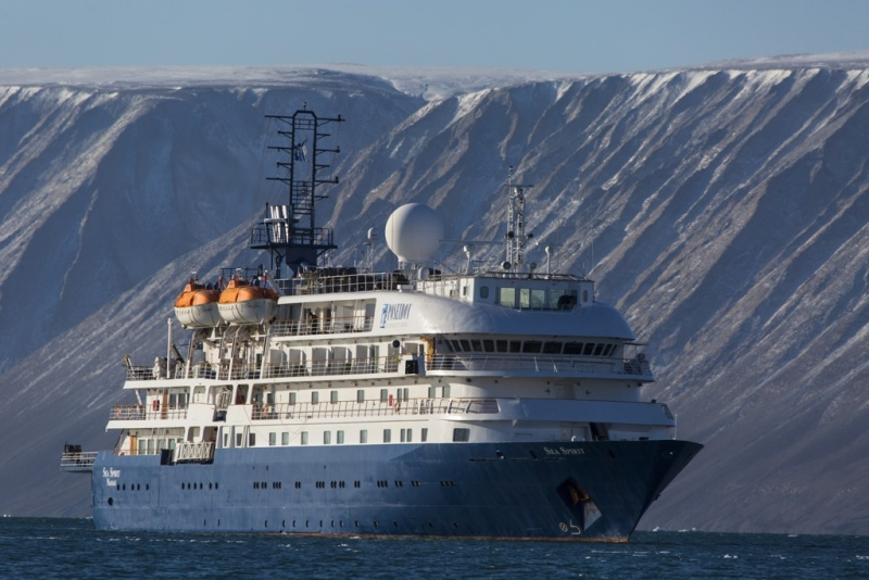 The 114-guest Sea Spirit is on a charter agreement through 2021.