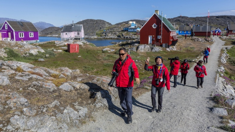 Exploring Itilleq, Greenland, a small town in the Qeqqata municipality.