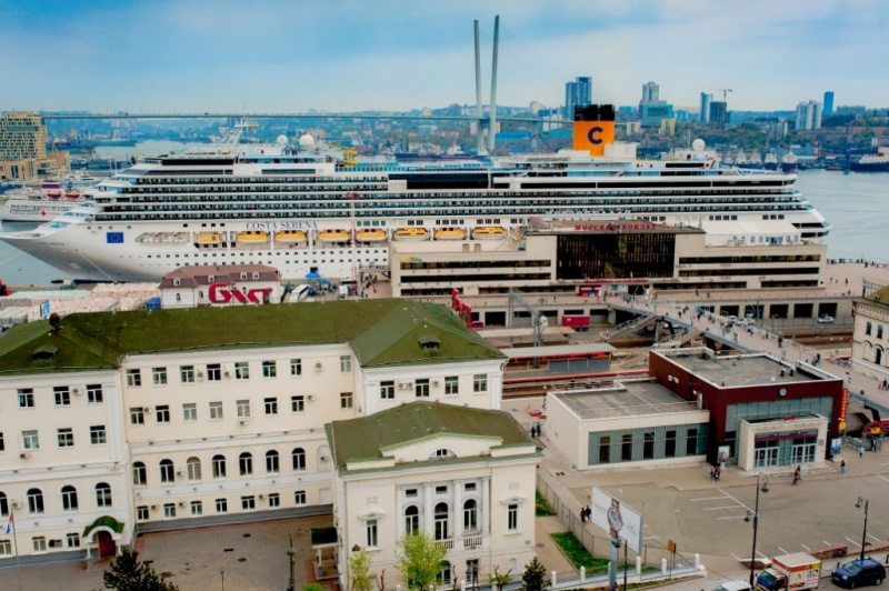 Costa Serena in Vladivostok