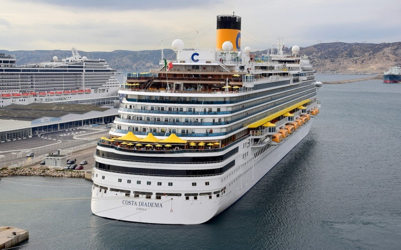 Costa Diadema in Marseille, France