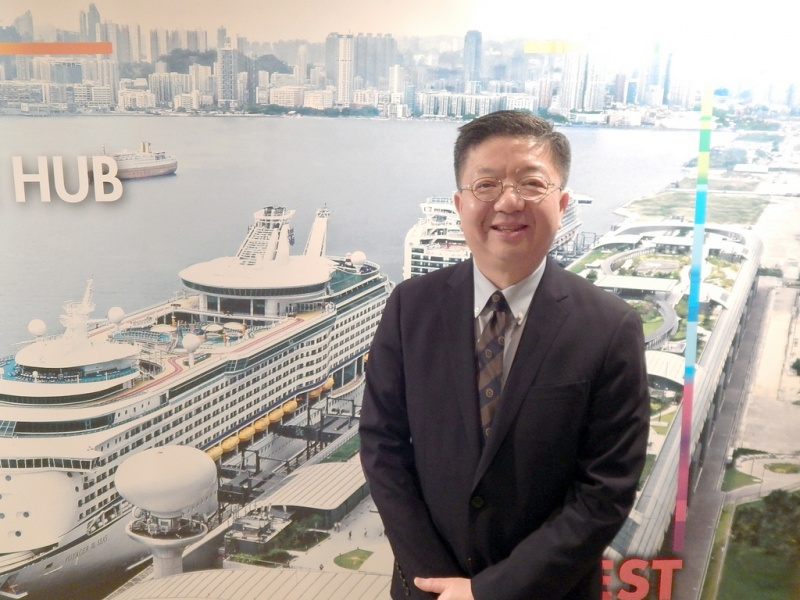 Anthony Lau, executive director, Hong Kong Tourism Board