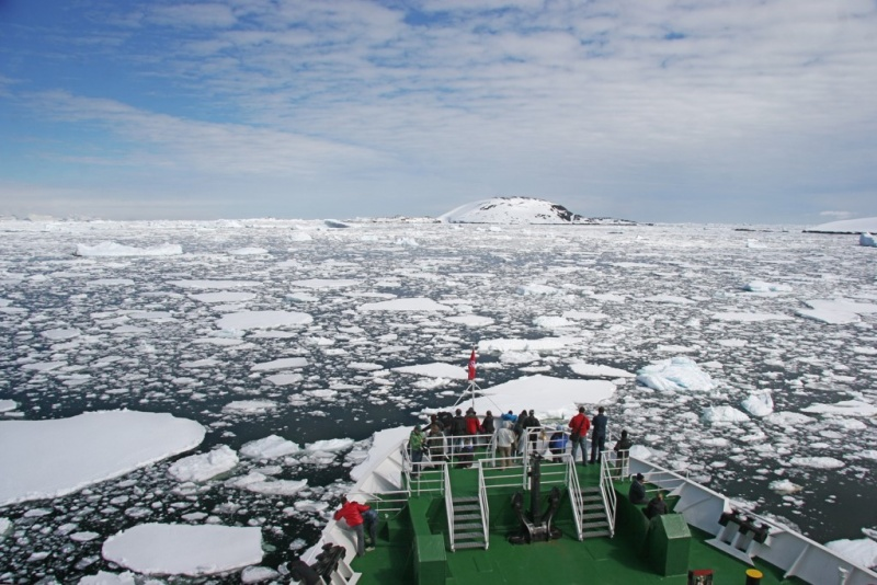 HFO has been banned in Antarctica since August 2011.