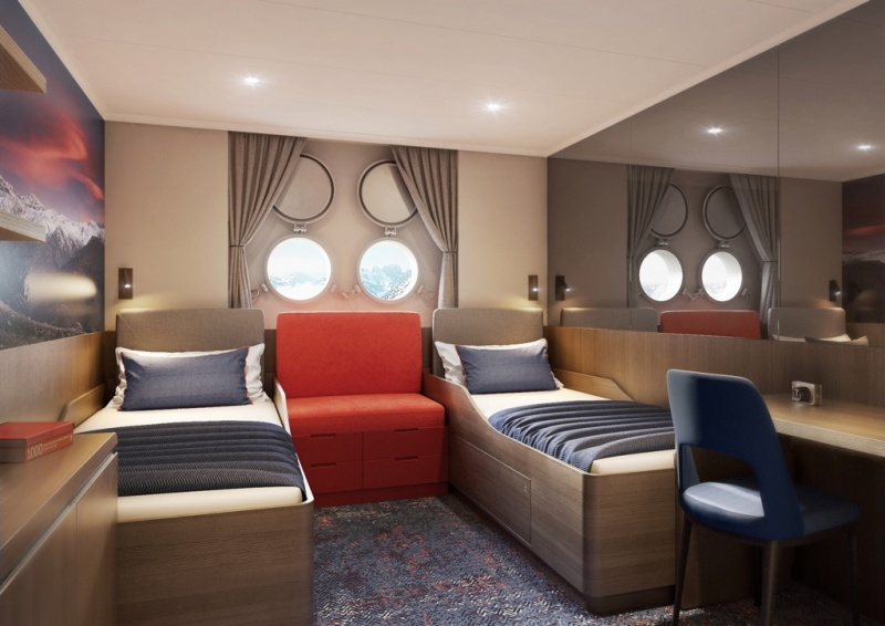 Twin Porthole Suite