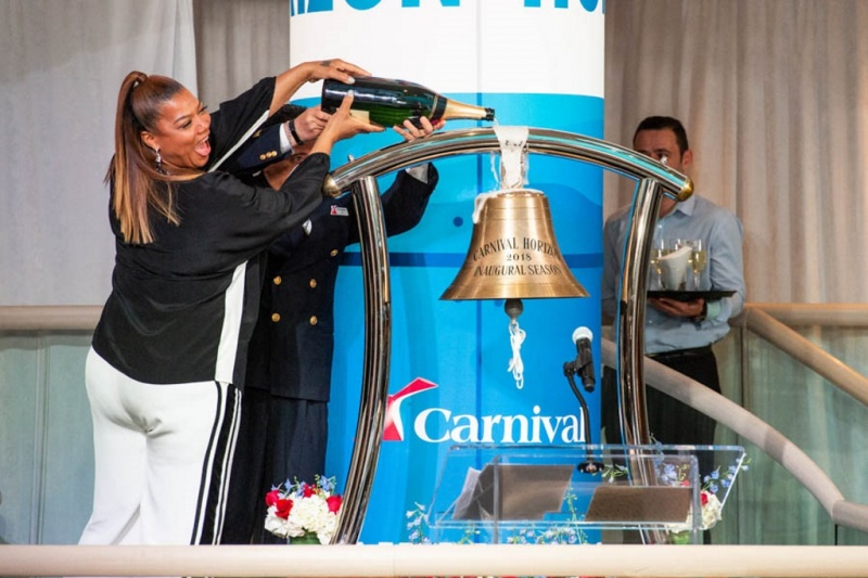 Queen Latifah Names Carnival Horizon