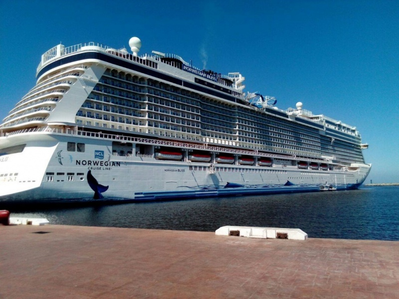 Norwegian Bliss in Vallarta