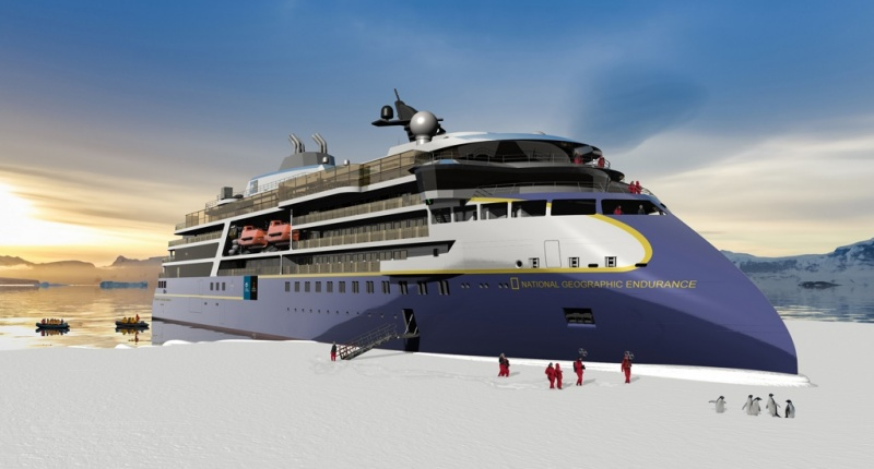 Lindblad's new ship is being built by Ulstein