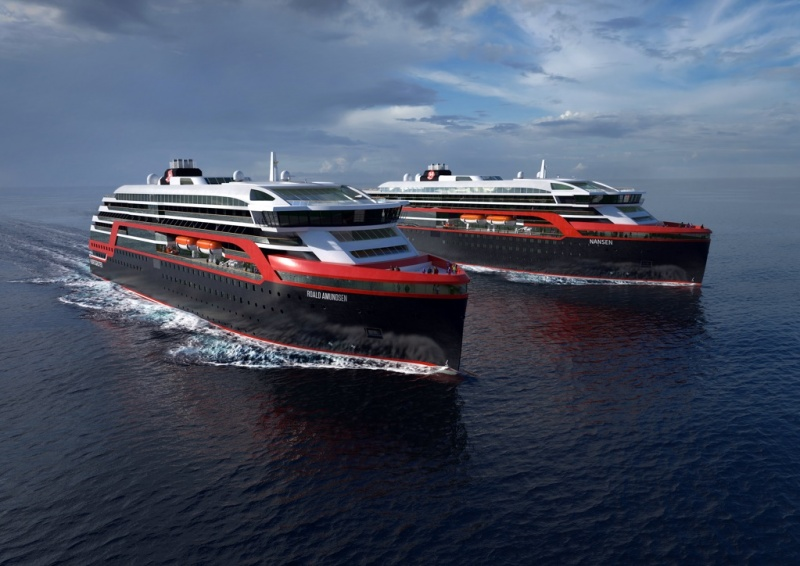 The new Hurtigruten expedition ships