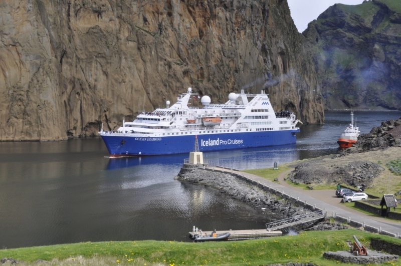 The Ocean Diamond in the Vestman Islands