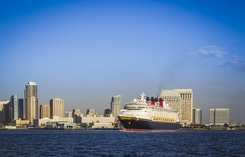 Disney Wonder in San Diego