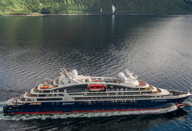 It is also the first of a new wave of expedition ships, with 28 new vessels scheduled for delivery between now and