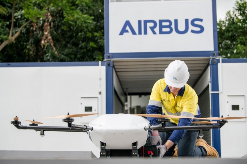Shore to Ship Drone Delivery