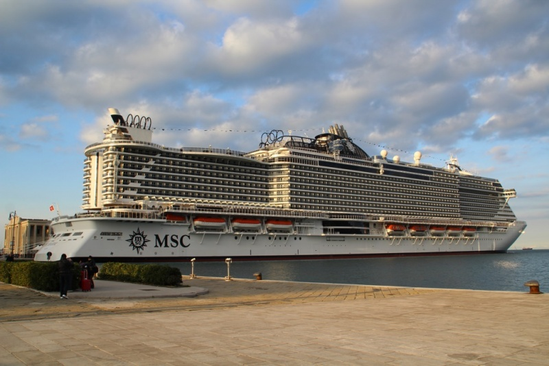 MSC Seaside in Trieste