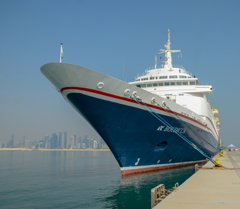 Boudicca at Doha Port