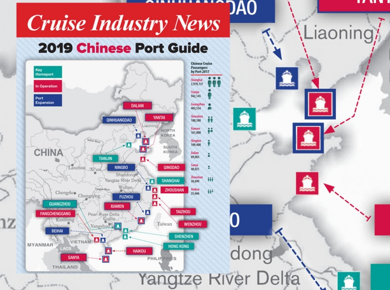Chinese Port Map