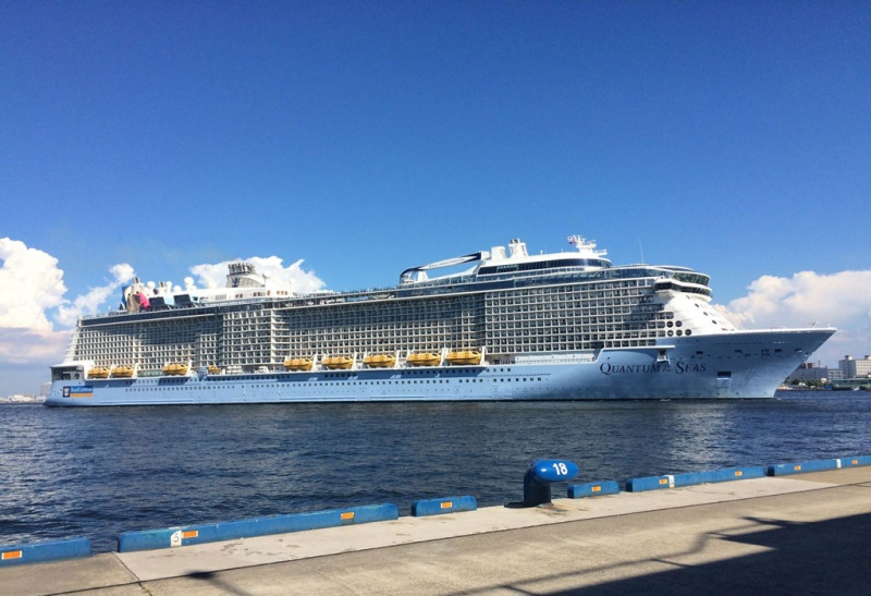 Quantum of the Seas in Kobe