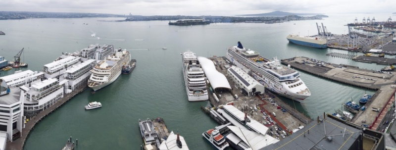 Four Ships in Auckland
