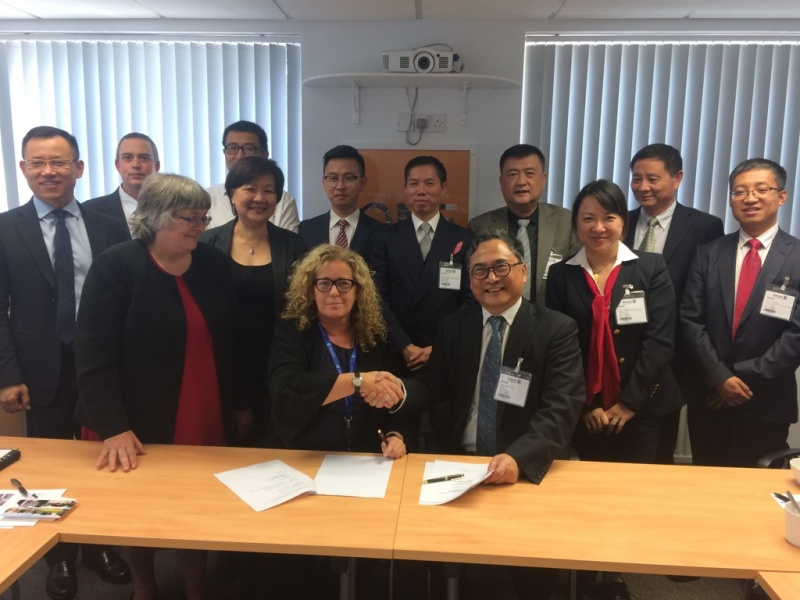 xova Warringtonfire welcomes delegation from the China Cruise & Yacht Industry Association
