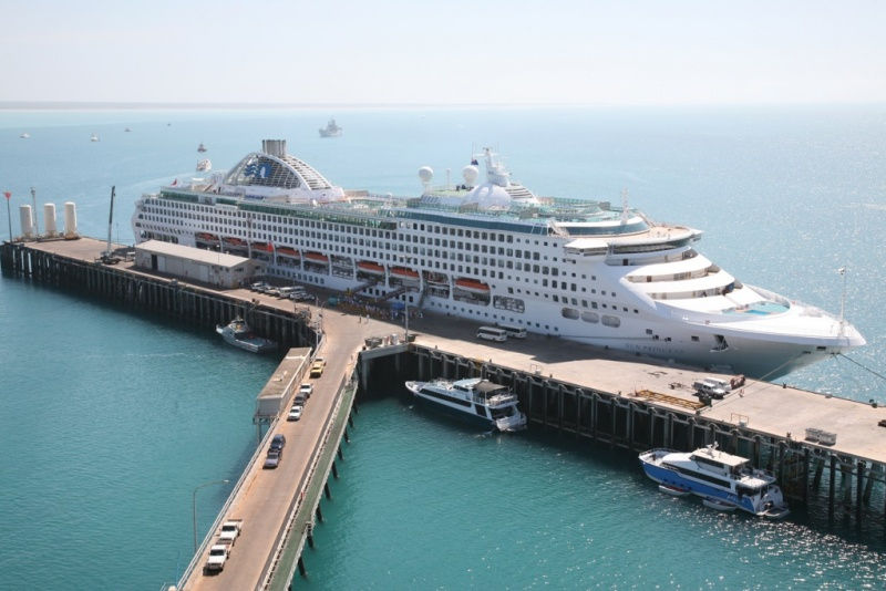 Sun Princess in Broome