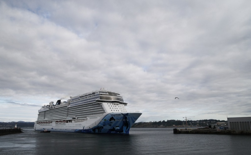 Norwegian Bliss in Victoria | Photo: Kevin Light