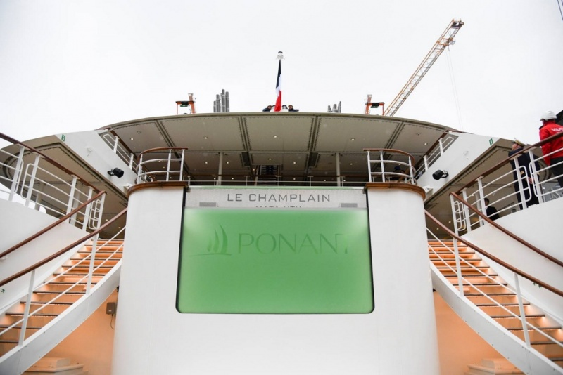 Francois Illas New Tradition: Ponant Fleet Grows To Seven As Le Champlain Delivered