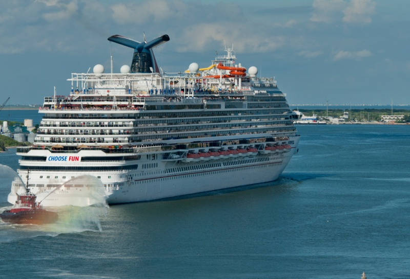Carnival Vista Sails from Galveston