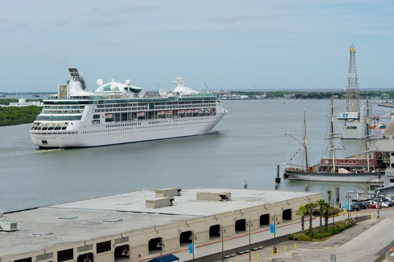 Enchantment of the Seas Sails from Galveston