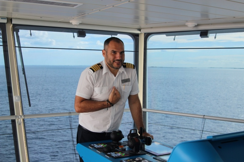Staff Captain Matthaios Karandrea