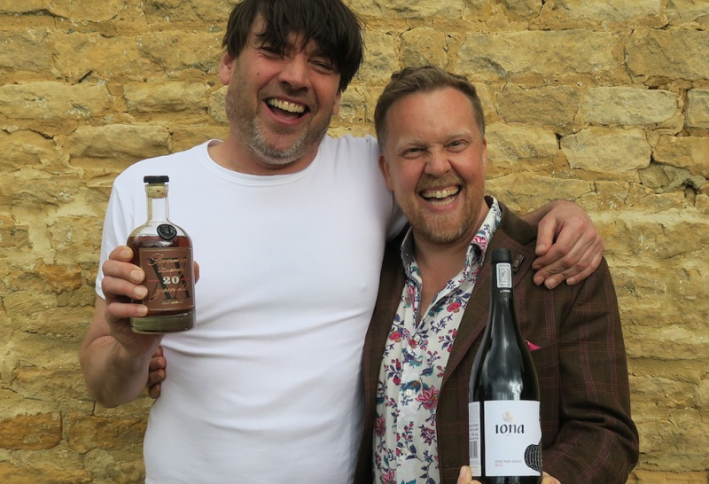 Olly and Alex James