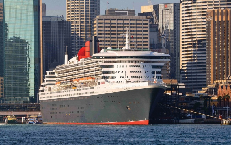 The Queen Mary in Sydney, Australia (photo: Clyde Dickens)