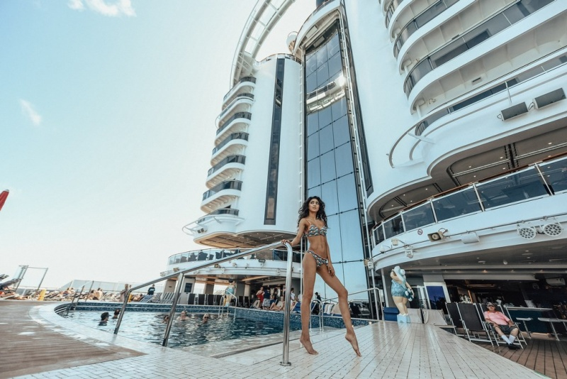 Onboard MSC Seaside
