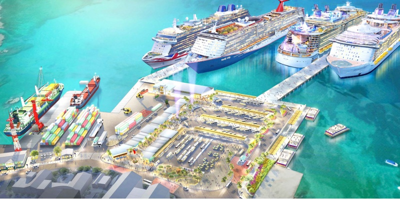 Proposed Cayman Port