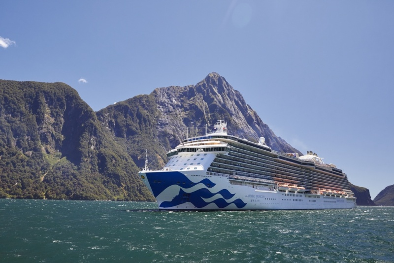 Majestic Princess in Milford Sound