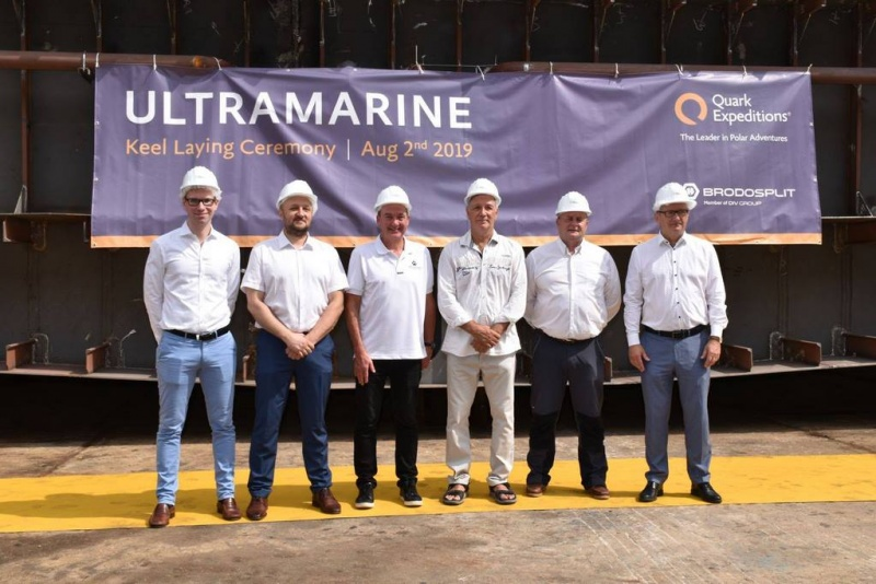 From the keel laying of the Ultramarine