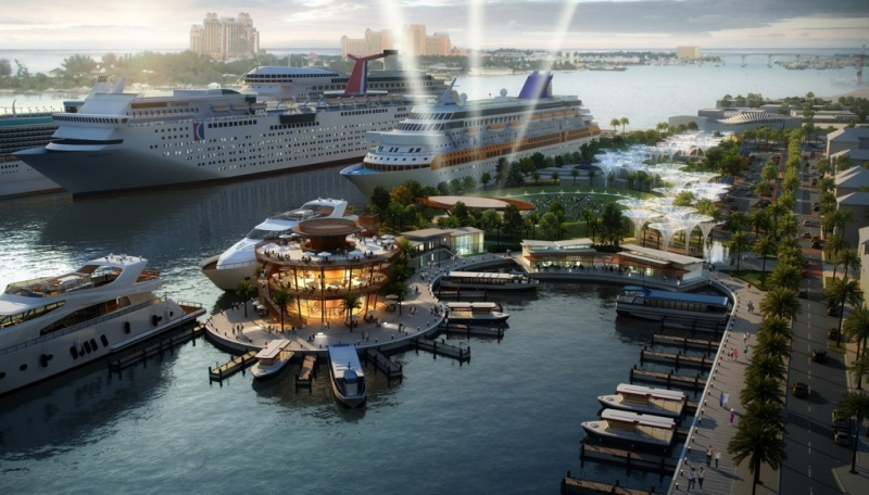 Nassau Waterfront Proposal Rendering