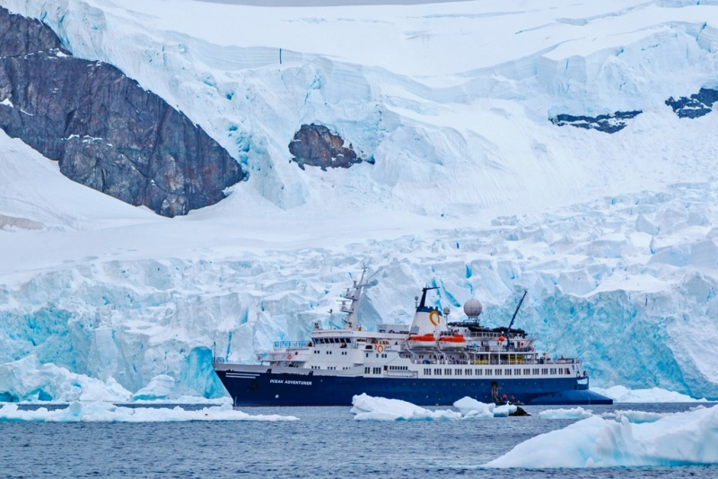 Quark Expeditions Vessel (Credit: Nicky Souness)